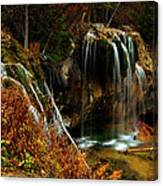 Falls At Hanging Lake Canvas Print
