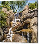 Falls At Jackalope Ranch Canvas Print