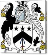 Falls Coat Of Arms Irish Canvas Print