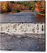 Falls Color Canvas Print