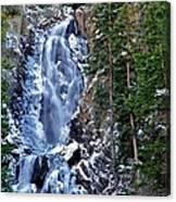 Falls Freezing Canvas Print