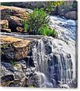 Falls Of Reedy River Canvas Print