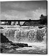 Falls Of The Big Sioux Canvas Print