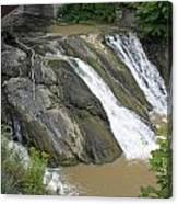 Falls On The Coeyman Creek Canvas Print