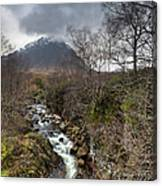 Falls On The River Coupall Canvas Print