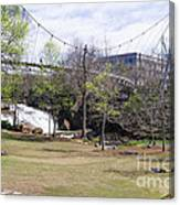 Falls Park On The Reedy Greenville Canvas Print