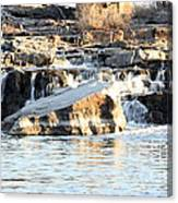Falls Park Waterfalls Canvas Print