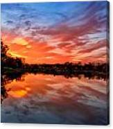 Fall's Reflection Canvas Print