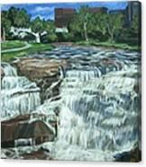 Falls River Park Canvas Print