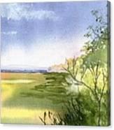 Falmouth View Canvas Print