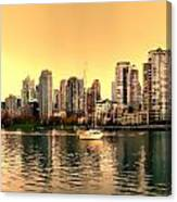False Creek Triptych Centre Panel Canvas Print