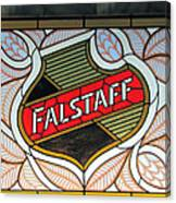 Falstaff Window Canvas Print