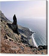 Famara Cliffs On Lanzarote Canvas Print