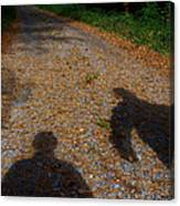 Familiar Shadows Canvas Print