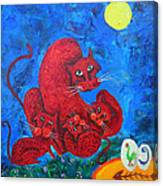 Family Cat Canvas Print