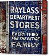 Family Store Canvas Print