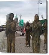 Famine Monument Dublin Ireland Canvas Print