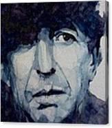 Famous Blue Raincoat Canvas Print