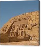 Famous Egyptian Landmarks Canvas Print