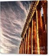 Famous Jupiter Columns Canvas Print