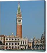 Famous Venice Italy Canvas Print