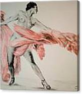 Fan Dancer 2 Canvas Print