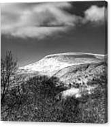 Fan Fawr Brecon Beacons 1 Mono Canvas Print