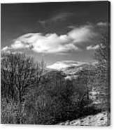 Fan Fawr Brecon Beacons 2 Mono Canvas Print