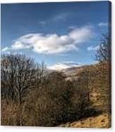 Fan Fawr Brecon Beacons 2 Canvas Print
