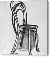 Fanback Parlor Chair Canvas Print