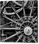 Fancy Big Wheel Canvas Print