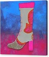 Fancy Boot Canvas Print
