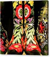 Fancy Boots Canvas Print