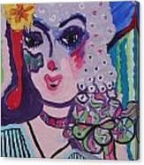 Fancy Girl Canvas Print