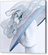 Fancy Hat Atilt Canvas Print
