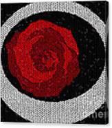 Fancy Rose Canvas Print