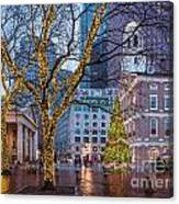 Faneuil Hall Holiday Canvas Print