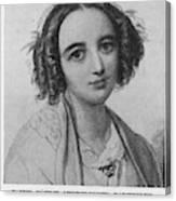 Fanny Caecilie Mendelssohn  Sister Canvas Print