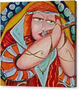 Fantacy Flute Canvas Print