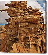 Fantastic Hoodoo Fantasy Canyon Utah United States Canvas Print