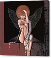 Fantasy Angel Canvas Print