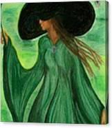 Fantasy Fashion Canvas Print