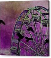 Fantasy Ferris-wheel Canvas Print
