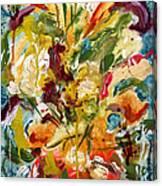 Fantasy Floral 1 Canvas Print