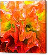 Fantasy Flower 7 Canvas Print