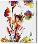 Fantasy Flowers 2 Canvas Print