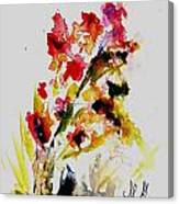 Fantasy Flowers 3 Canvas Print