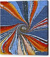 Fantasy In Blue Canvas Print