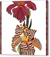 Fantasy Iris July 2013 Canvas Print