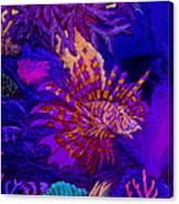 Fantasy Lionfish Canvas Print